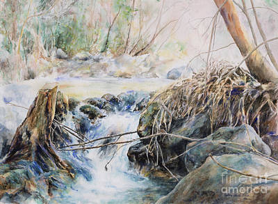 Painting - Silverado Creek by Pamela Schick