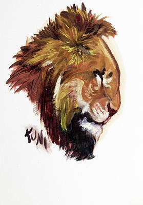 Painting - Simba by Karen Rispin