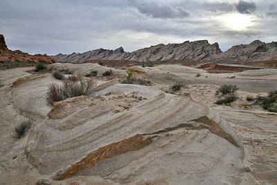 Photograph - Simple Eroded Beauty Of The San Rafael Desert by Ray Mathis
