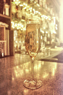 Photograph - Simply Champagne by Jamart Photography