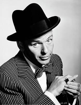 Photograph - Sinatra Portrait by Michael Ochs Archives