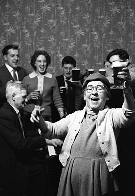 Photograph - Singalong by Bert Hardy Advertising Archive