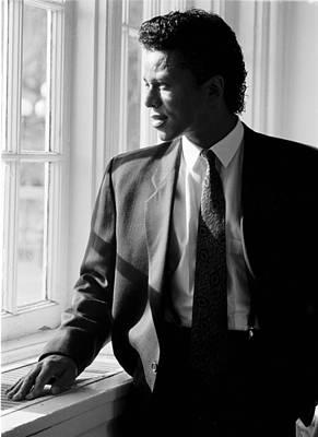 Photograph - Singer Jermaine Jackson by Jim Steinfeldt