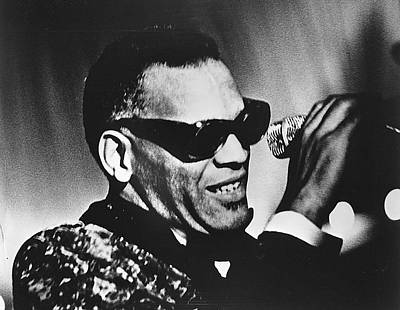 Photograph - Singer Ray Charles by Afro Newspaper/gado