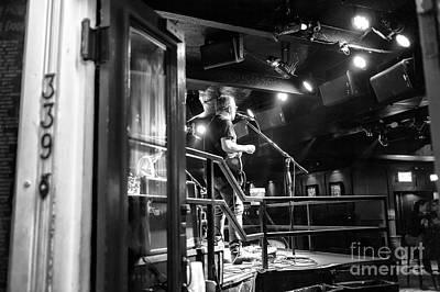 Photograph - Singing On Bourbon Street by John Rizzuto