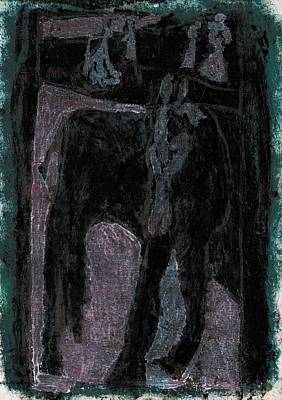 Painting - Single Horse 6 by Artist Dot