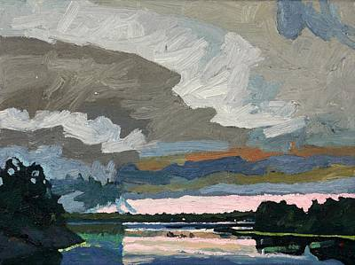 Painting - Singleton Afternoon Thunderstorm by Phil Chadwick