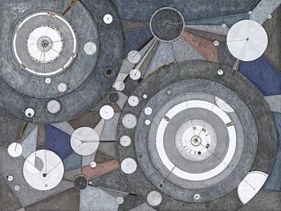 Drawing - Singularity Fugue by Regina Valluzzi