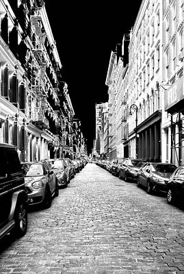 Photograph - Sinister Street by Cate Franklyn