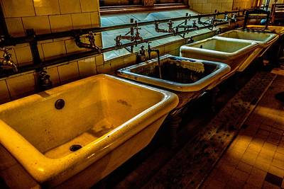 Photograph - Sinks by Rodney Lee Williams