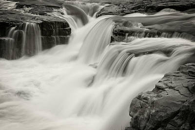 Photograph - Sioux Falls by Bud Simpson