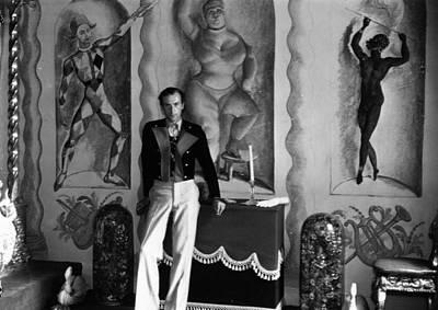 Photograph - Sir Cecil Beaton by Sasha