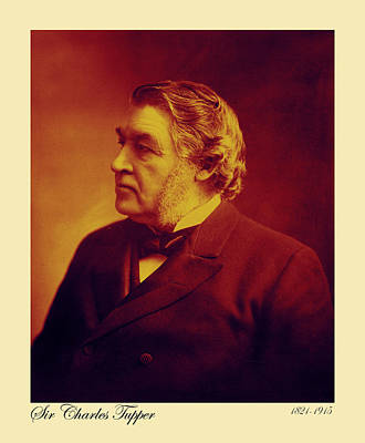 Photograph - Sir Charles Tupper by Andrew Fare