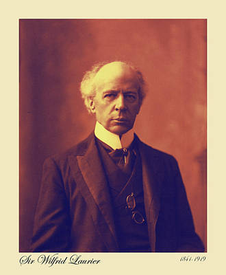 Photograph - Sir Wilfrid Laurier by Andrew Fare