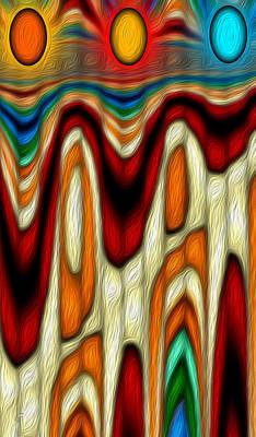 Abenaki Wall Art - Digital Art - Sisters by Carmen Hathaway