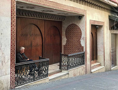 Photograph - Sitting In Tangier by Jessica Levant