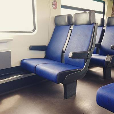 Photograph - Sitting On Trains by Samuel Pye
