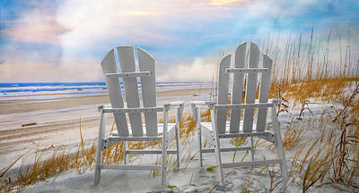 Photograph - Sitting Under The Clouds Panorama by Debra and Dave Vanderlaan
