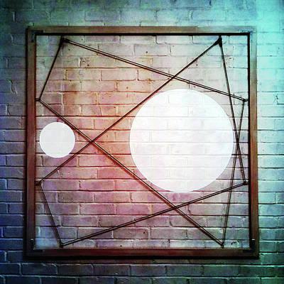 Mixed Media - Six - Wall by REVAD David Riley
