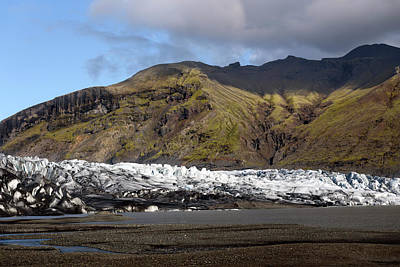 Photograph - Skaftafellsjokull Glacier by RicardMN Photography