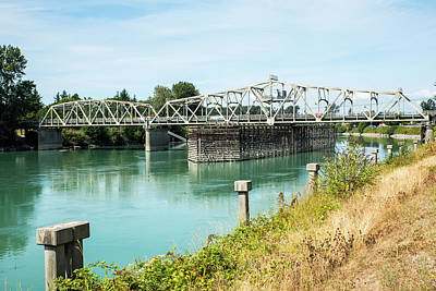 Photograph - Skagit River And Division Street Bridge by Tom Cochran