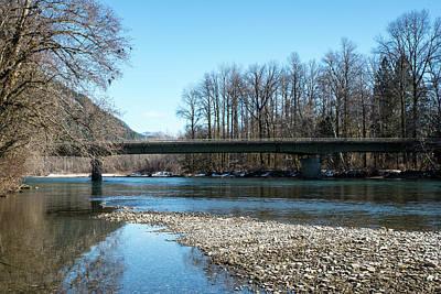 Photograph - Skagit River And Sr 530 Bridge by Tom Cochran