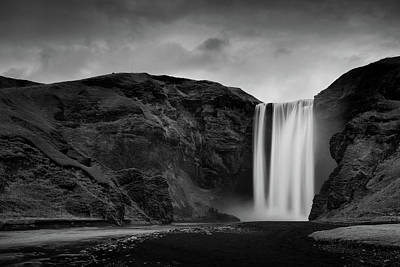 Photograph - Skógafoss Waterfall by Mark Voce Photography