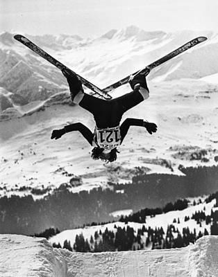 Photograph - Ski Aerobatics by Keystone