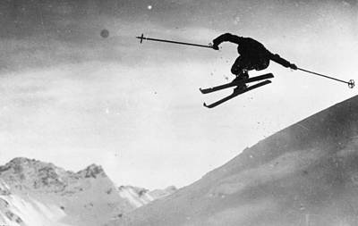Skiing Photograph - Ski Jumping by Carlstein
