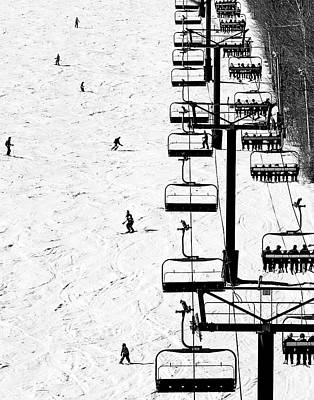 Photograph - Skiing by Gail Shotlander