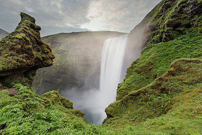 Photograph - Skogafoss Waterfall by Nicole Young