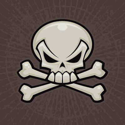 Royalty-Free and Rights-Managed Images - Skull and Crossbones by John Schwegel