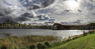 Photograph - Sky At Cawfields by John Meader