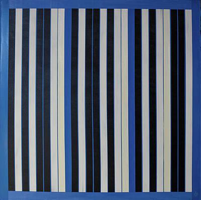 Painting - Sky - Binary Code by Juan Contreras