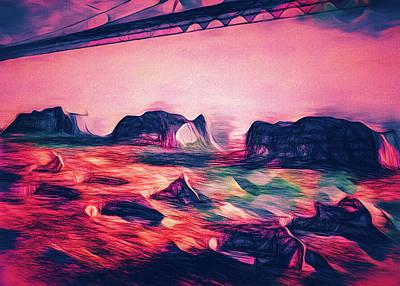 Painting - Sky Bridge Under by Bob Orsillo