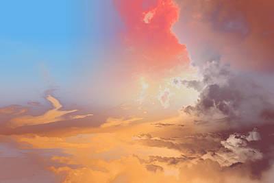 Photograph - Sky Fight by John Emmett