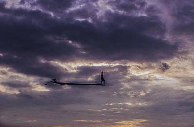 Photograph - Sky Fisherman by Mache Del Campo