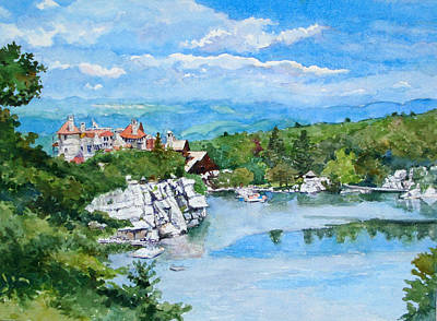 Sky Lake, Mohonk Art Print by Mira Fink