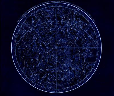 Digital Art - Sky Map by Nicoolay