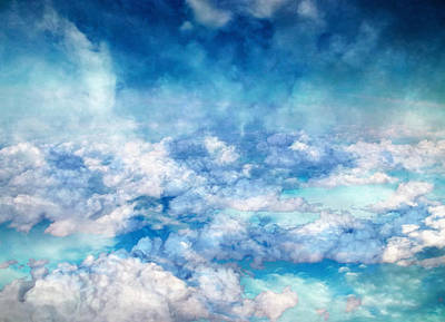 Photograph - Sky Moods - A View From Above by Glenn McCarthy