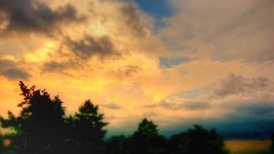 Photograph - Sky On Fire by Cj Mainor