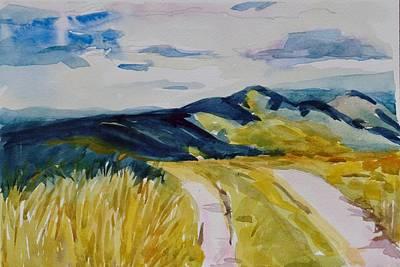 Painting - Sky Scape  by Jo Mackenzie