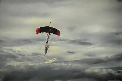 Photograph - Skydiver by Dyle Warren