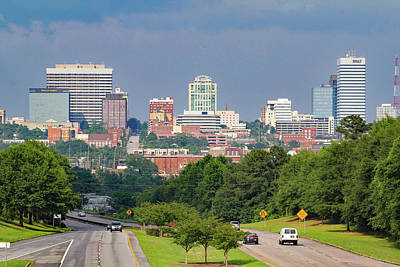 Photograph - Skyline Of Columbia 2014 Color by Joseph C Hinson Photography