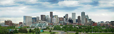 Cityscape Photograph - Skyline Shot Of Denver, Colorado by Pearley
