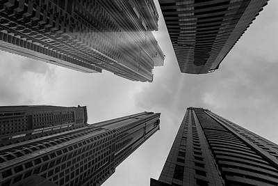 Photograph - Skyscrapers Reach The Heaven by Nick Mares