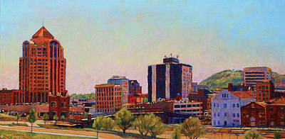 Skyshine - Roanoke Virginia Skyline Original