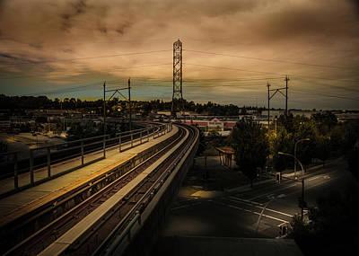Photograph - Skytrain Track by Juan Contreras