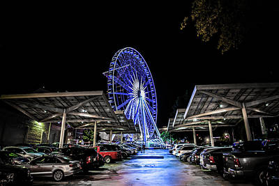 Photograph - Skyview In Atlanta by Kenny Thomas