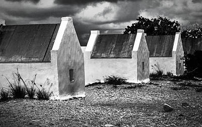 Photograph - Slave Huts Of Bonaire by Max Huber